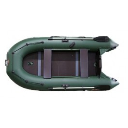 Надувная ПВХ лодка PM 280 L, моторно-гребная, плоскодонная